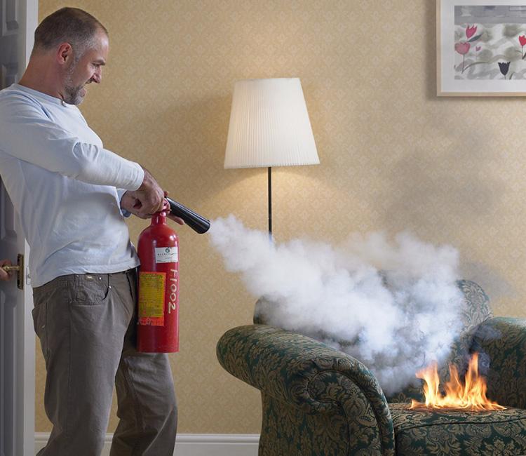 actuar en caso de incendio