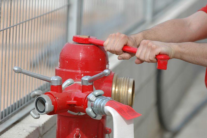 hidrantes de incendios