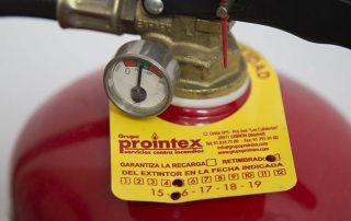 revision anual de extintores