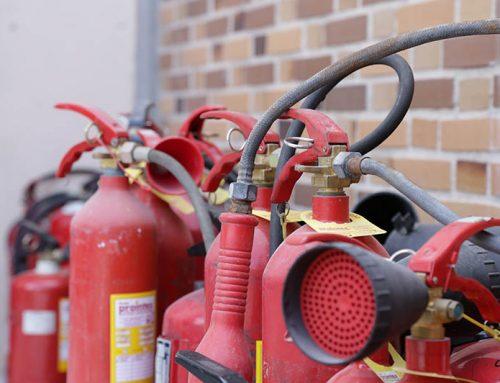 Reciclaje de extintores de polvo