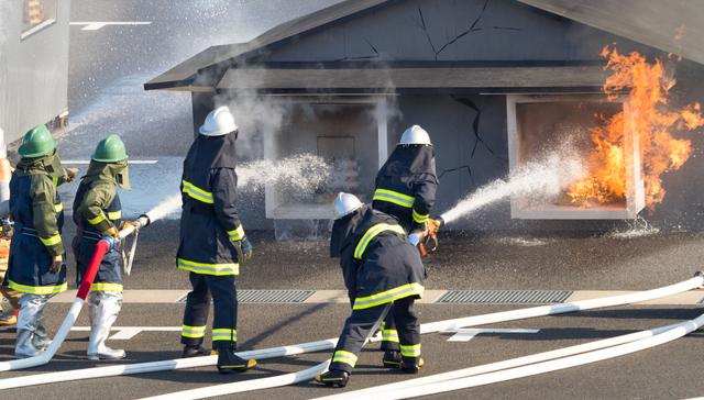 Protección activa y pasiva contra incendios