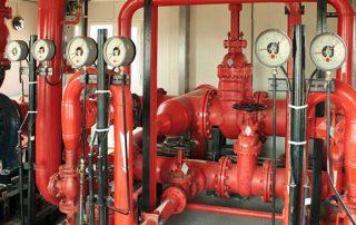 Sistema de abastecimiento de agua contra incendios