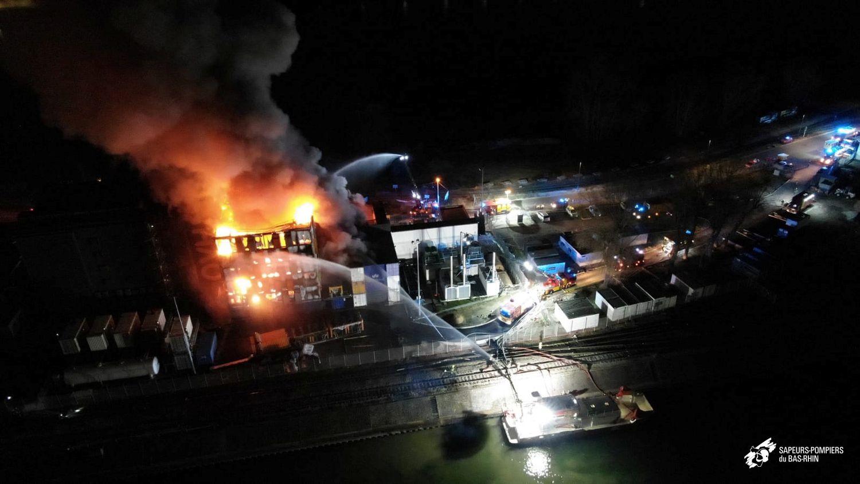 Incendios en centros de datos